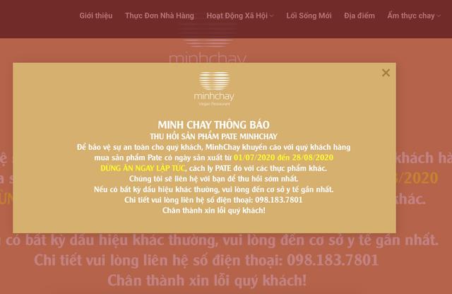 Vụ Pate Minh Chay nhiễm độc tố: Giám đốc trẻ rút 3/4 vốn điều lệ trước khi gặp sự cố