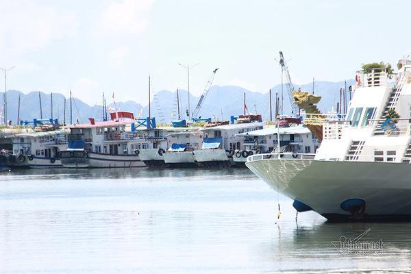 Chỉ còn hơn 100 khách thuê tàu tham quan vịnh Hạ Long mỗi ngày