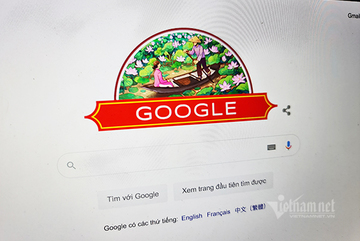 Google đổi giao diện mừng Quốc khánh Việt Nam