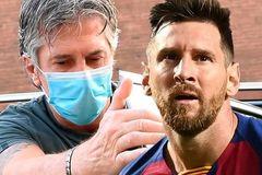 Messi gặp rắc rối ở Barca đều do… cha của anh