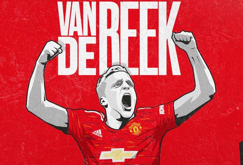 Van de Beek ra mắt MU: Bất ngờ mức lương và số áo thi đấu