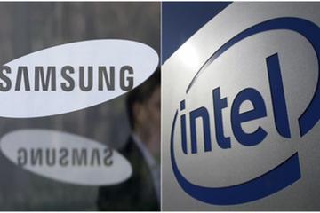 Samsung đang thu hẹp khoảng cách với Intel về thị phần doanh thu bán dẫn