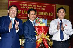 Ông Lê Quân được bầu làm Chủ tịch UBND tỉnh Cà Mau
