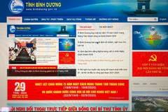 Cổng Thông tin điện tử tỉnh Bình Dương đứng hạng nhất trong 63 tỉnh, thành