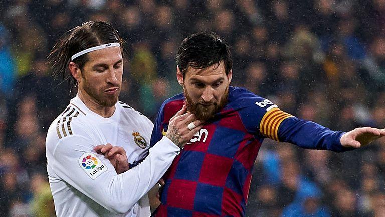 'Kẻ thù' Sergio Ramos mong Messi đừng rời Barca - ảnhchụplén