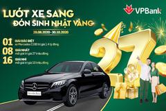 VPBank tặng khách ôtô Mercedes dịp kỉ niệm 27 năm