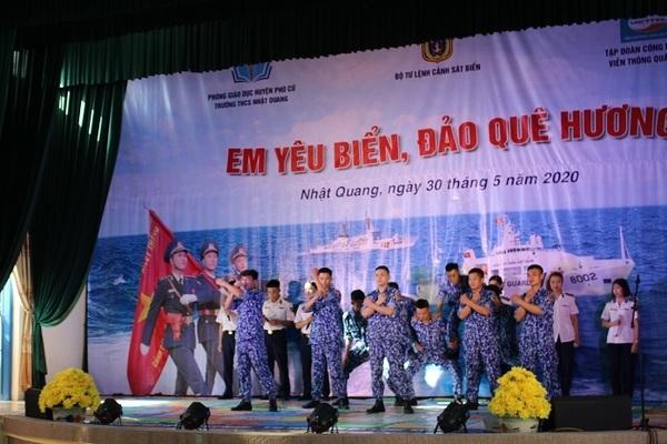 """50 học sinh trường Trường THCS Nhật Quang tham gia cuộc thi 'Em yêu biển, đảo quê hương"""""""