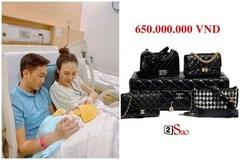 Bóc giá 4 chiếc túi Cường Đô La mua cho con gái: Size mini nhưng giá khổng lồ