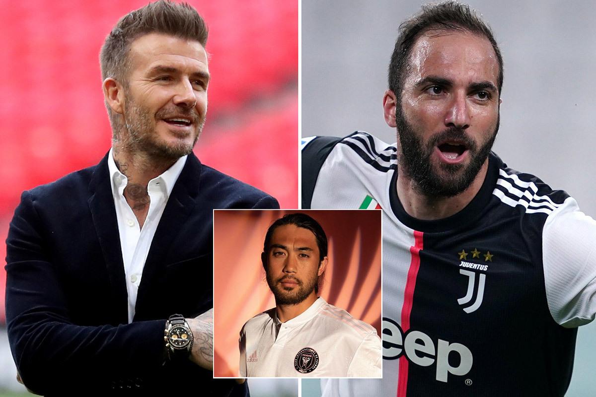Beckham kéo Higuain về đá cặp Lee Nguyễn