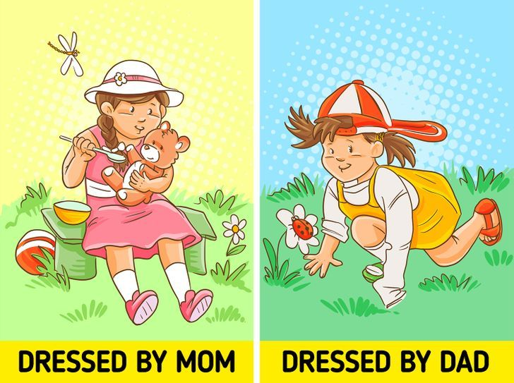 12 bức hình cho thấy sự khác biệt trong cách dạy con của bố và mẹ