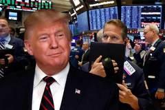 Cú sụt bay mất trăm tỷ USD, Donald Trump không hề nao núng