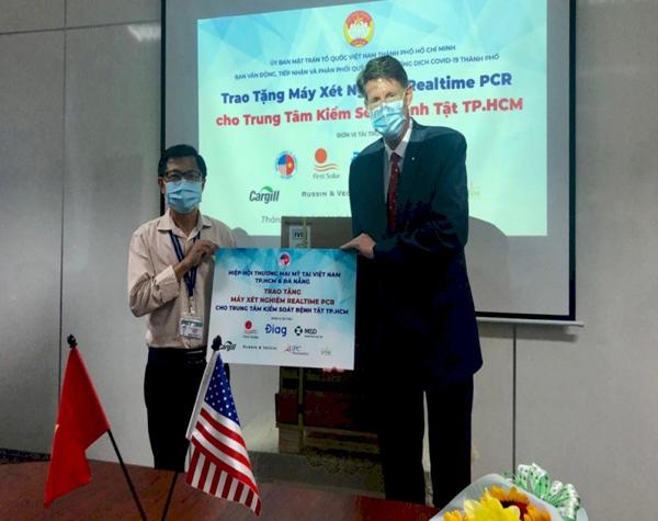 MSD chi mạnh ủng hộ Việt Nam phòng, chống Covid-19