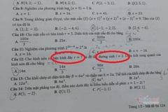 Xôn xao về 1 bài toán trong đề thi tốt nghiệp THPT đợt 2