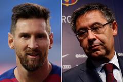 Nóng Barca: Chủ tịch tham nhũng, Messi ở lại