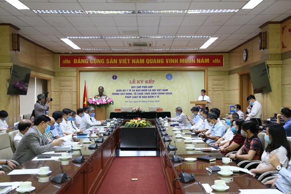 Bộ Y tế và BHXH Việt Nam phối hợp thực hiện chính sách, pháp luật BHYT