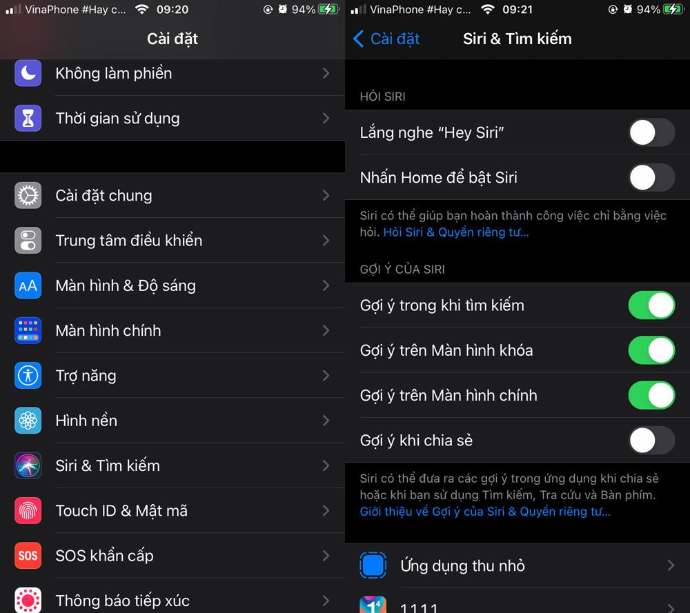 Cách tắt tính năng đề xuất địa chỉ liên hệ trên trình đơn chia sẻ của iOS 14
