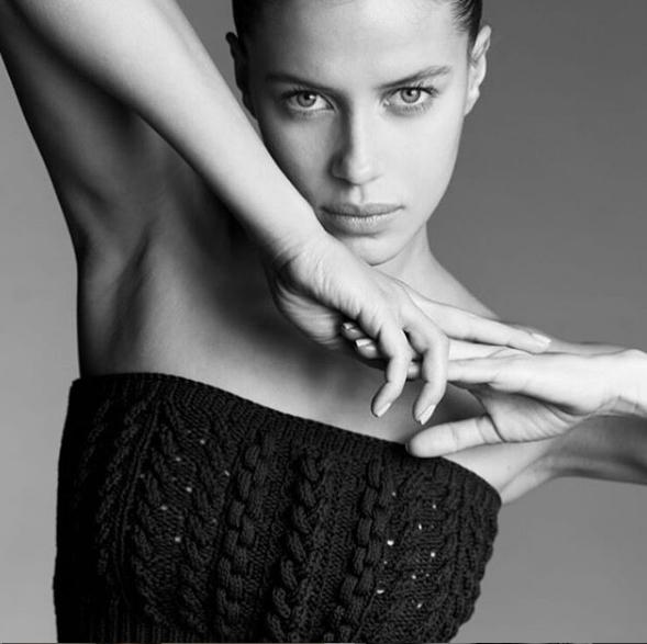 Nhan sắc bạn gái người mẫu kém 30 tuổi của Brad Pitt