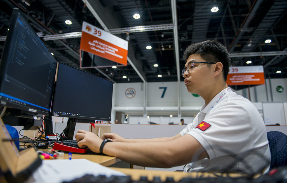 An early passion for computers led gold medalist to choose IT as a career