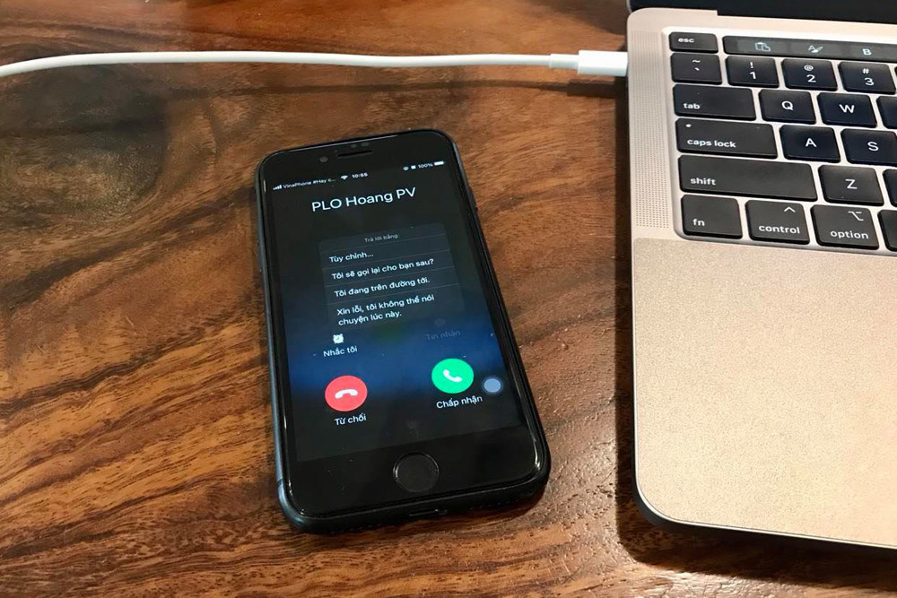 Cách thay đổi nội dung phản hồi cuộc gọi bằng tin nhắn trên iPhone