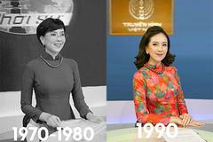 Mai Ngọc tái hiện PTV, MC Thời sự của VTV qua 50 năm