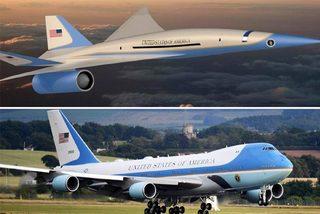 Mỹ đặt hàng chuyên cơ siêu thanh cho tổng thống