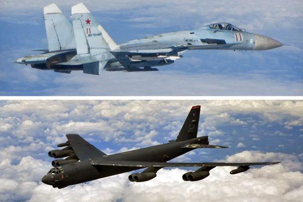 Nga điều 8 tiêm kích chặn 'pháo đài bay' Mỹ