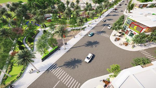 Lavela Garden - dự án nhà phố shophouse 'hiếm' ở Bình Dương