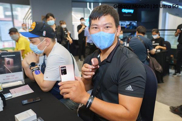 'Bức tranh' 5G thêm hoàn thiện với 'mảnh ghép' Galaxy Note20