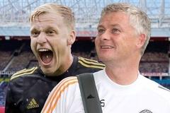 Van de Beek 'thở phào' được đến MU, tiết lộ nói chuyện với Solskjaer