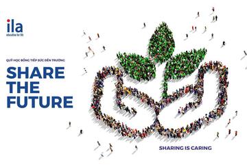 ILA gây Quỹ học bổng Share The Future tiếp sức 5.000 học sinh khó khăn