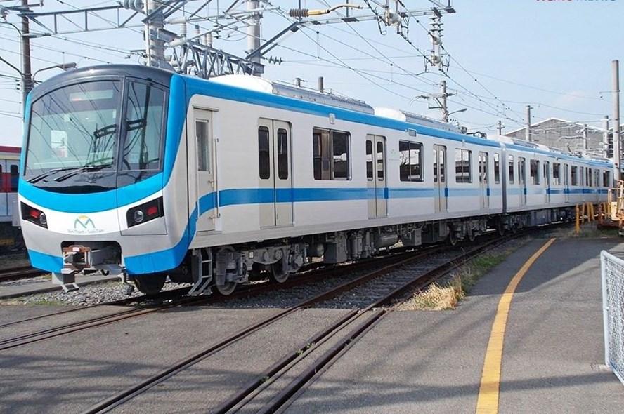 First HCM City metro train set for Vietnam