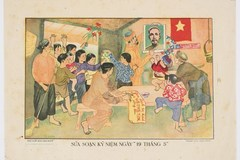 Vietnam's art posters in 1950s kept in New South Wales library
