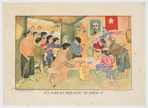 Vietnamese art posters,collection,entertainment news