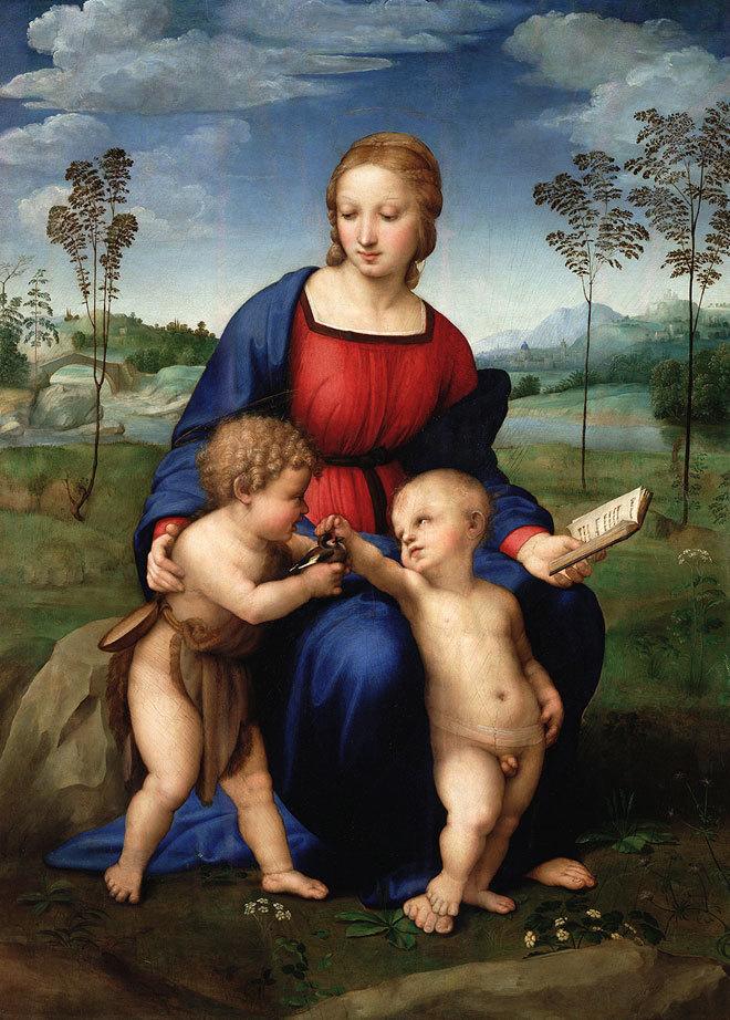 Triển lãm kỹ thuật số các tác phẩm của họa sĩ thiên tài Raphael