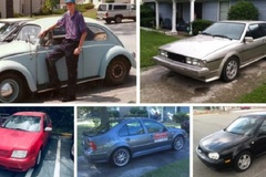 Người đàn ông gây sốt khi mua 42 chiếc ô tô Volkswagen trong đời