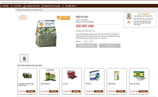 Sàn Đông Y - Giải pháp mua sắm online hoàn toàn mới