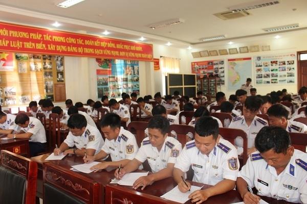 BTL Vùng Cảnh sát biển 4 tổ chức Hội thao huấn luyện tàu năm 2020