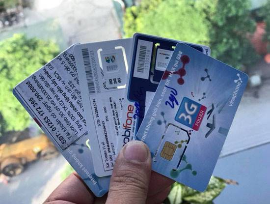 Network operators that provide 'trash' sims will not receive licenses for new services