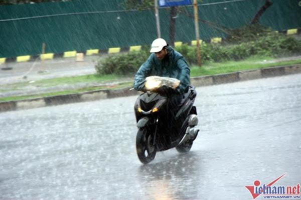 Thời tiết hôm nay: Miền Bắc mưa to