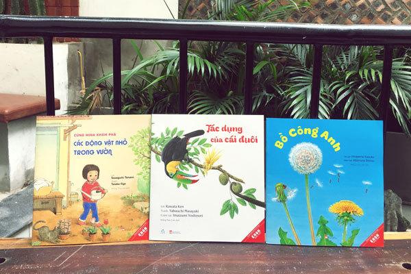 Tình yêu thiên nhiên cho trẻ qua bộ sách khoa học Ehon Nhật Bản