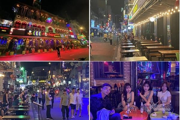 Quán bar, vũ trường ở Sài Gòn kê bàn phục vụ khách trở lại