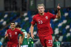 Haaland ghi 2 tuyệt phẩm, Na Uy thắng trận đầu tay ở Nations League
