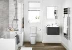10 ý tưởng cách bài trí kệ trong phòng tắm giúp tiết kiệm không gian một cách thông minh