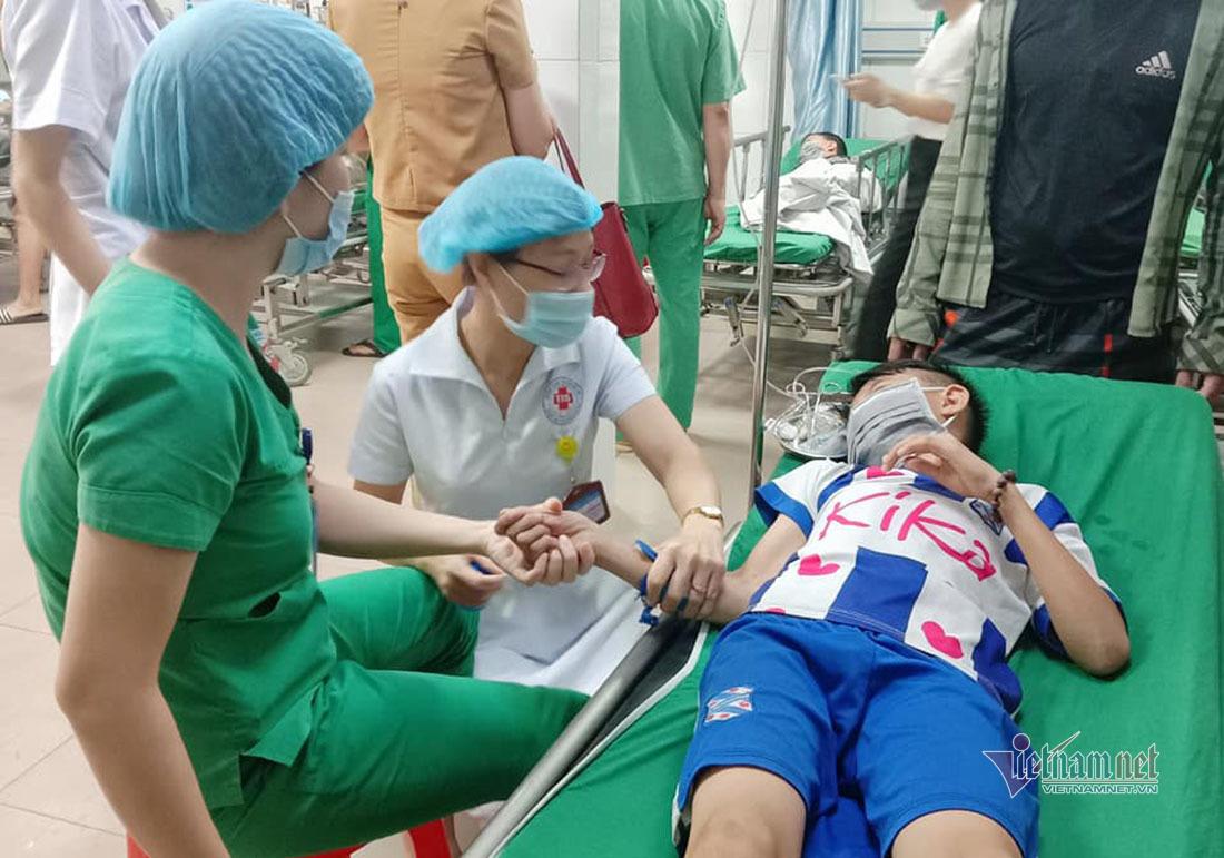 Nghệ An: Hàng loạt học sinh bị ong đốt phải nhập viện cấp cứu
