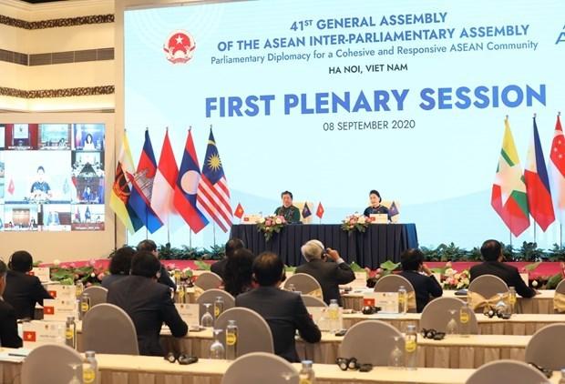 AIPA 41,ASEAN Inter-Parliamentary Assembly,ASEAN Community,Nguyen Thi Kim Ngan