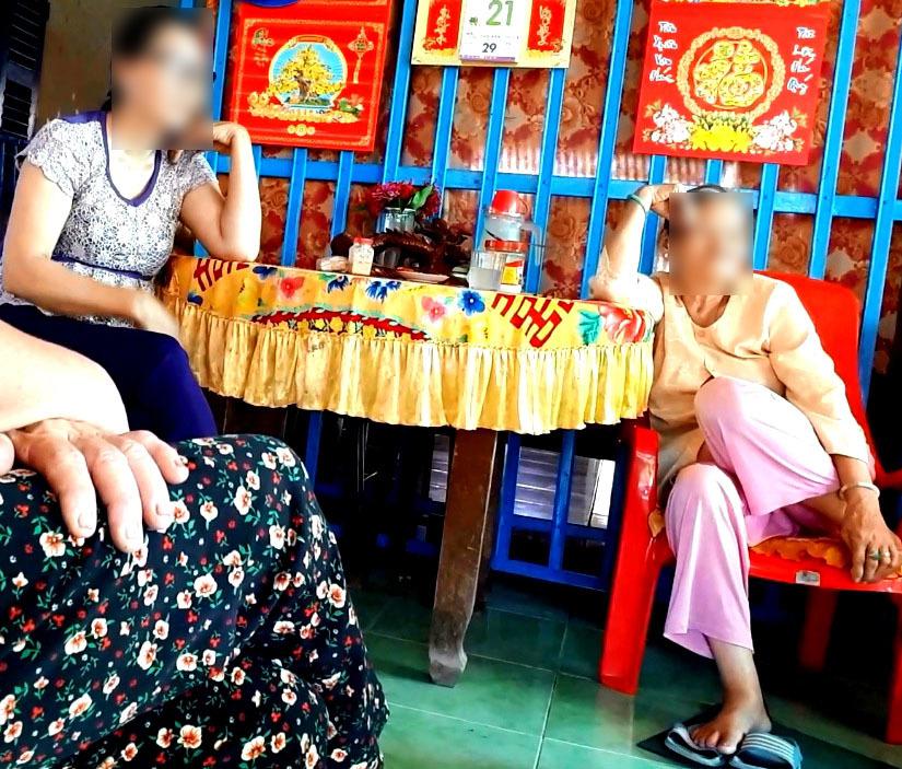 Người mẹ bị con gái bạo hành ở Long An vì để lại tài sản cho cháu ngoại