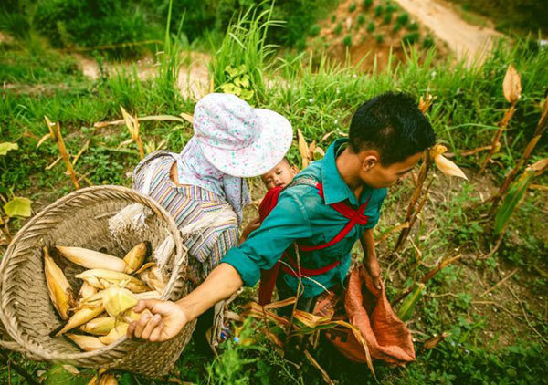 Ha Giang,Tay Con Linh Mountain,Co Lao ethnic people