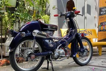 Honda Cub 23 năm tuổi độ cực chất của dân chơi Sài Gòn