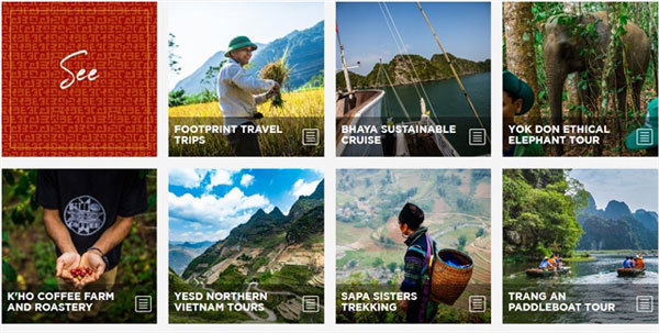 Web page launched for green travel in Vietnam