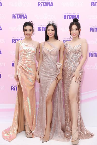 Hà Kiều Anh, Trần Tiểu Vy dự ký kết tài trợ Hoa hậu Việt Nam 2020